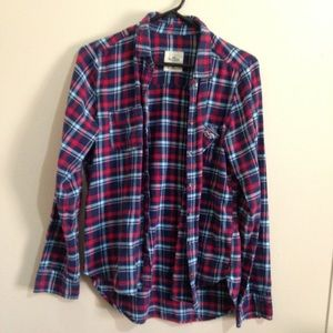 Hollister women's flannel.